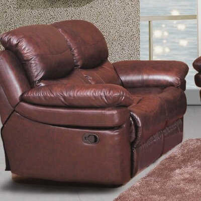 Mt. Adams Loveseat Upholstery: Brown