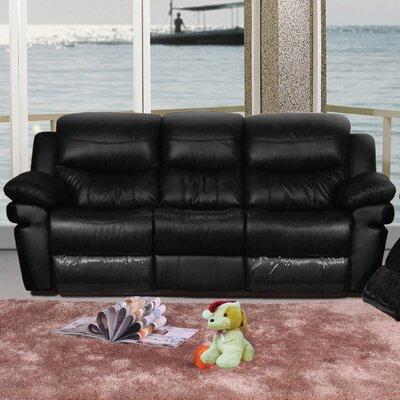 Mt. Adams Sofa Upholstery: Black