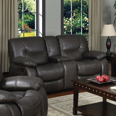 3470-2CR PLKH1038 E-Motion Furniture Mt. Garibaldi Leather Reclining Loveseat