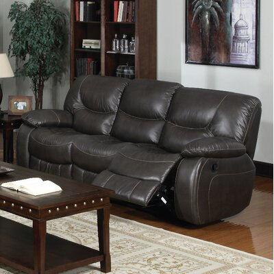 3470-3R PLKH1037 E-Motion Furniture Mt. Garibaldi Leather Reclining Sofa