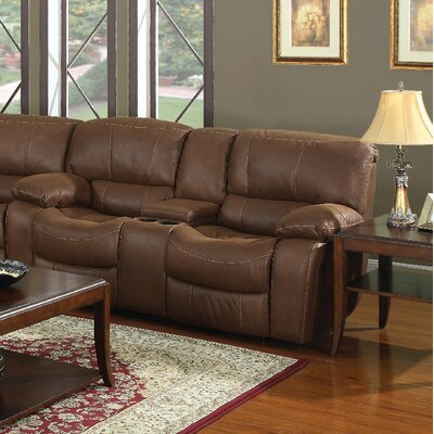 3365-2CR PLKH1014 E-Motion Furniture Newberry Leather Reclining Loveseat