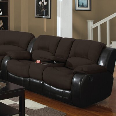 3154-2CR PLKH1072 E-Motion Furniture Mt. Rainier Reclining Loveseat
