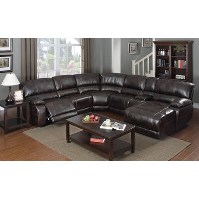 Fenley Reclining Sectional (Set of 7)