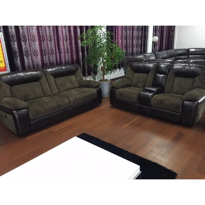 Emery Leather Living Room Collection