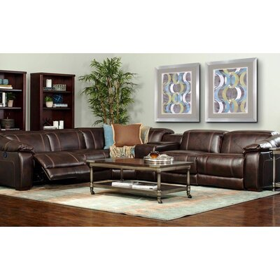 James Power Reclining Sectional