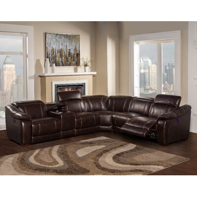 Dylan Power Reversible Reclining Sectional