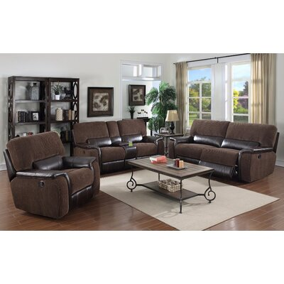Micaela Leather Living Room Collection