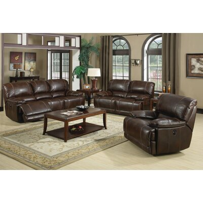 Cuenca Leather Living Room Collection