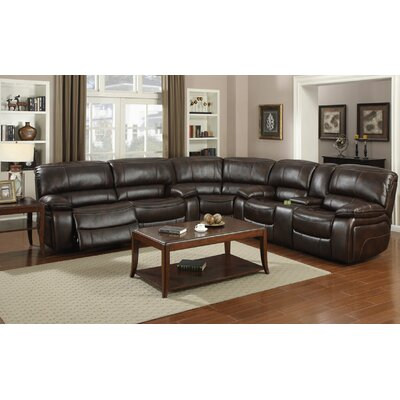 Jayce Reversible Reclining Sectional