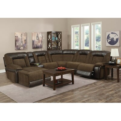 Emileigh Reclining Chaise Sectional Orientation: Left Hand Facing