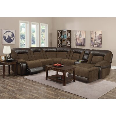 Emery Reclining Sectional Orientation: Right Hand Facing