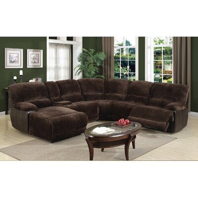 Macauley Reclining Sectional Orientation: Left Hand Facing