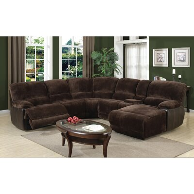 Macauley Reclining Sectional Orientation: Right Hand Facing