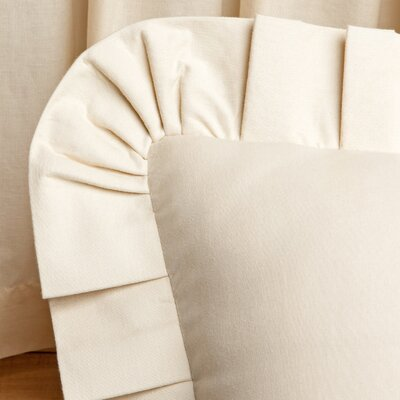 Ruffled Cotton Euro Sham