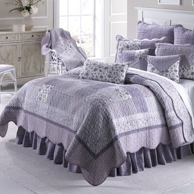 Lavender Rose Quilt Size: Full/Queen