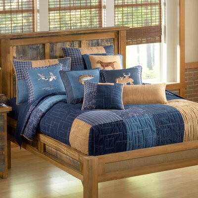 Denim Square Quilt Size: Full/Queen