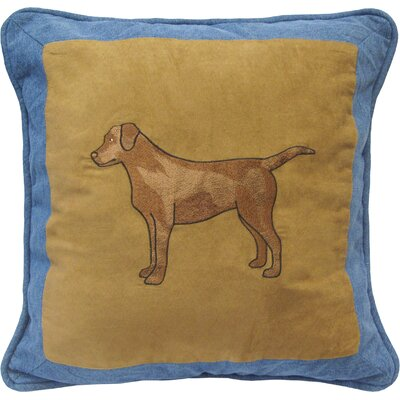 Denim Square Pillow