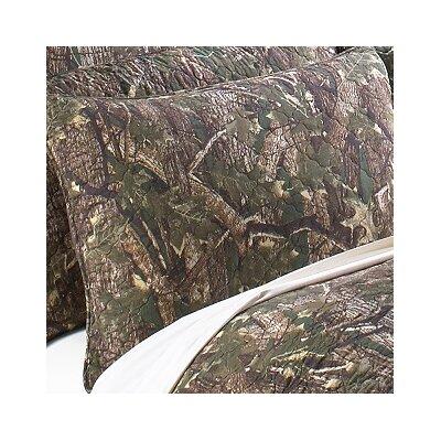 Camouflage Sham Size: Euro Sham
