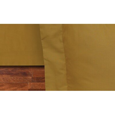 Rodrigo 135 Thread Count Bed Skirt Size: King