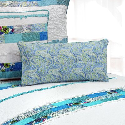 Angeline Stripe 100% Cotton Breakfast Pillow