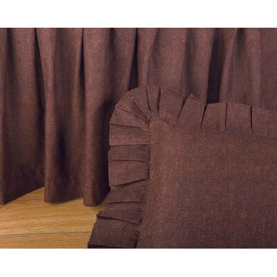 Cherree 100 Thread Count Bed Skirt Size: Queen
