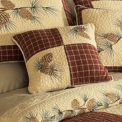 Frisch Patch 100% Cotton Throw Pillow