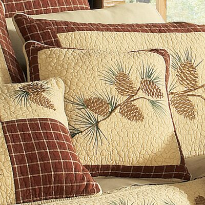 Frisch Branch 100% Cotton Throw Pillow