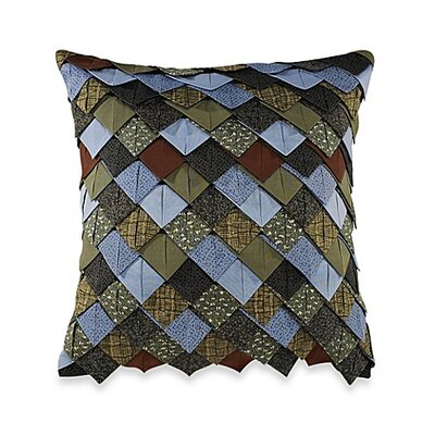 Rae Rooftiled Cotton Throw Pillow