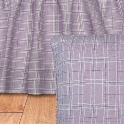 Chenoweth Lavender 125 Thread Count Bed Skirt Size: Queen