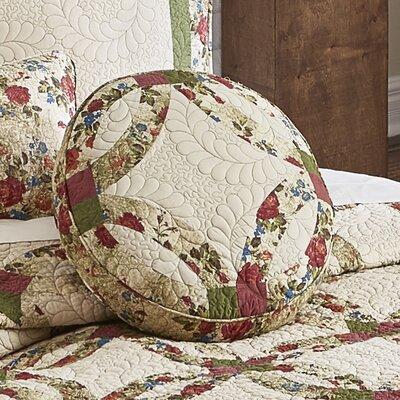Cueto Wedding Ring Cotton Throw Pillow