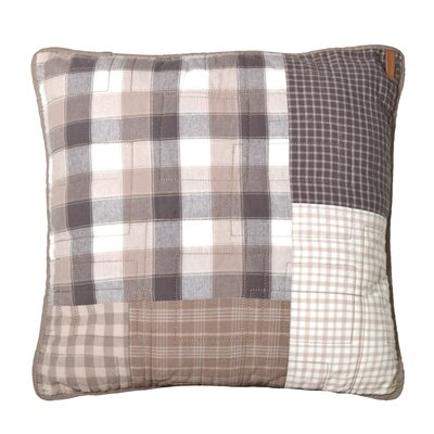 Crowell Square Cotton Throw Pillow