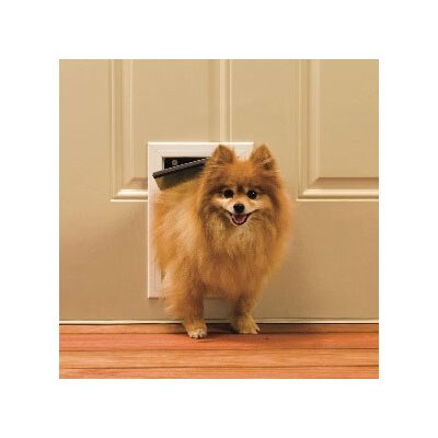 5-1/8 x 7-5/8 Small Aluminum Freedom Dog Door Size: Medium - 12.25 H x 8.25 W