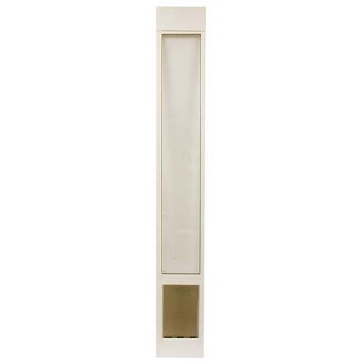 Deluxe Large and Tall Pet Panel Size: Large 81, Color: White
