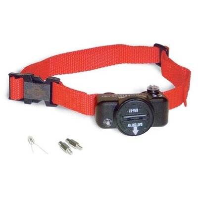 In-Ground Deluxe Ultralight Dog Electric Fence Collar Collar Size: 8