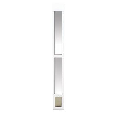 Sliding Glass Pet Door Size: Small (43 H x 9.25 W x 3.75 L)