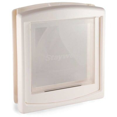 Door Clear Hard Flap Size: Medium