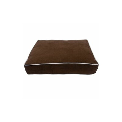Luxury Buster Pet Bed Color: Cocoa, Size: Large (42 L x 30 W)