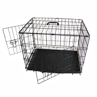 Pet Crate Size: 23 H x 21 W x 30 L