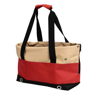FurryGo Pet Carrier Color: Red