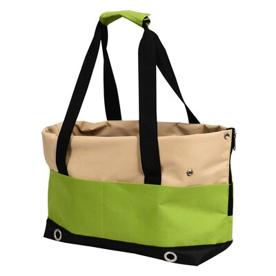 FurryGo Pet Carrier Color: Lime Green