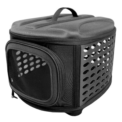 Pet Carrier/Crate Color: Black