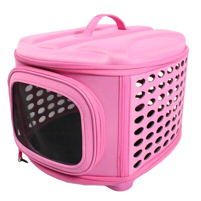 Pet Carrier/Crate Color: Pink