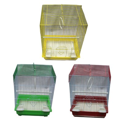 Small Flat Top Bird Cage Assortment YB