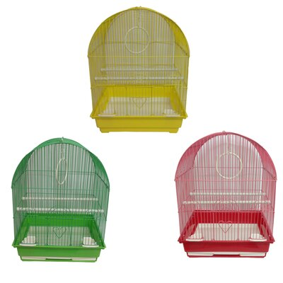 Medium Dome Top Bird Cage Assortment YC