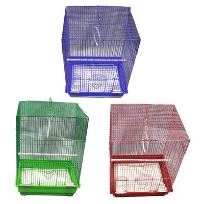 Medium Flat Top Bird Cage Assortment YD