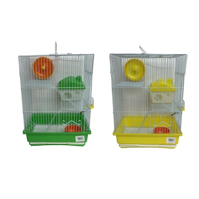 Mouse Cage with House Feeder
