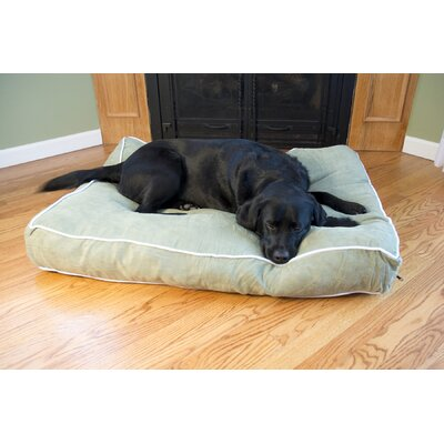 Luxury Buster Pet Bed Size: Small (24 L x 18 W), Color: Moss