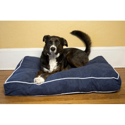Luxury Buster Pet Bed Color: Denim, Size: Medium (36 L x 24 W)