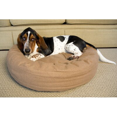 Luxury Nestlez Pet Bed Color: Light Brown, Size: Large - 28.3 L x 28.3 W