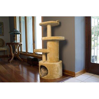 41 Dual Post Cat Tree Condo
